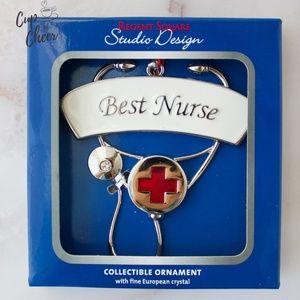 Lenox Nurse Ornament Nursing Perfect Gift NIB